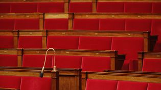 Dans l'hémicycle de l'Assemblée nationale, le 22 mars 2016. (DENIS ALLARD / REA)