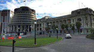 Le Parlement à Wellington (Nouvelle-Zélande), le 21 septembre 2017. (ANA NICOLACI DA COSTA / REUTERS)