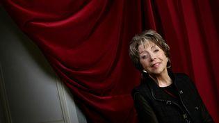 La comédienne Marthe Mercadier, le 7 janvier 2005 à Paris. (JEAN-PIERRE MULLER / AFP)