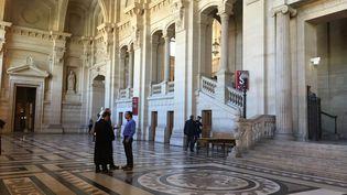 Principal accusé à comparaître devant la Cour d'Assises spécialement composée de Paris : Cédric Courbey, militant de Corsica Libera, a été acquitté, jeudi4 juillet 2019. (FRANCE 3 CORSE VIA STELLA)