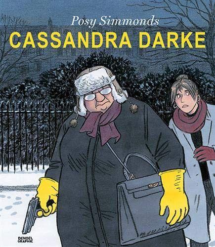 "Couverture de ""Cassandra Darke"", Posy Simmonds (Denoël graphic)"
