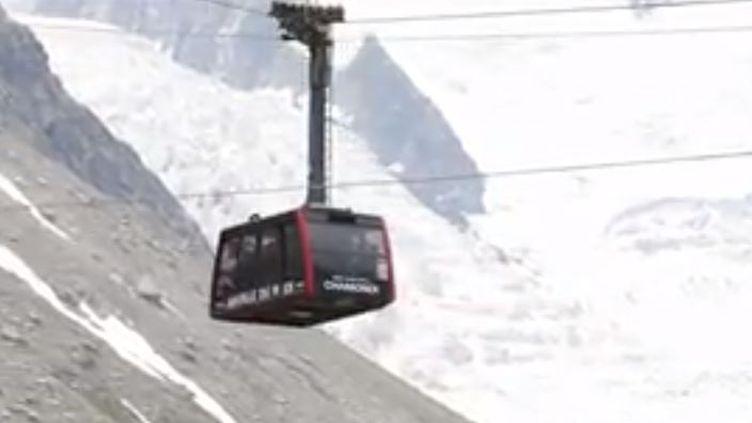 Découverte du téléphérique du Mont Blanc. (FRANCE 3)