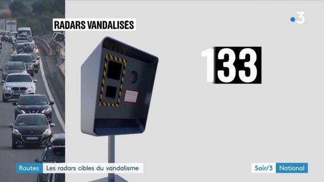 Routes : les radars cibles du vandalisme