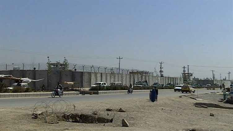 Vue générale de la prison de Kandahar (AFP - STR)