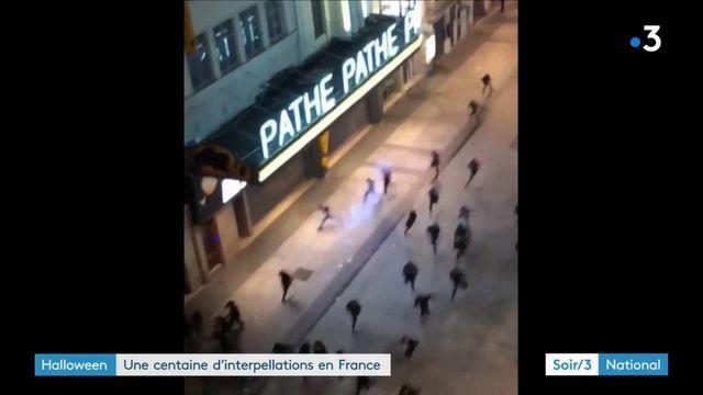 Violences de la nuit d'Halloween : une centaine d'interpellations en France