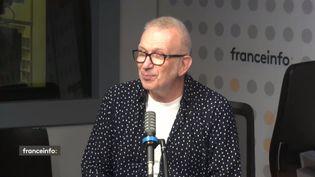 Jean-Paul Gaultier, invité de franceinfo le 15 septembre 2021. (FRANCEINFO / RADIO FRANCE)