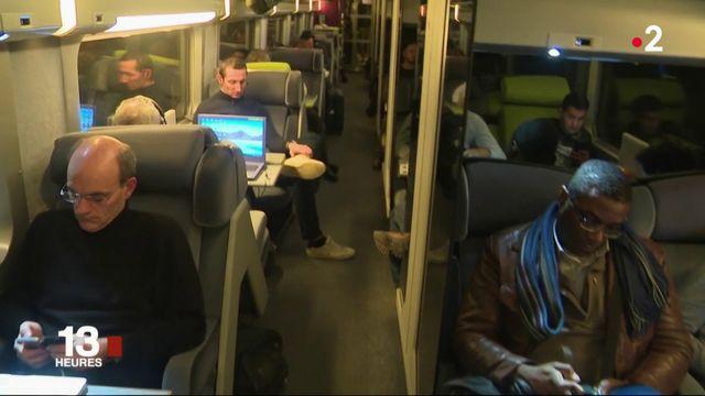 Intempéries : entre Nantes et Paris, un TGV piégé par la neige