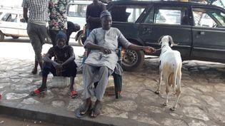 Au Sénégal, de nombreux habitants ont célébrél'Aïd al-Adha sans tenir comptes des consignes sanitaires diffusées par les autorités. (OMAR OUAHMANE / RADIO FRANCE)