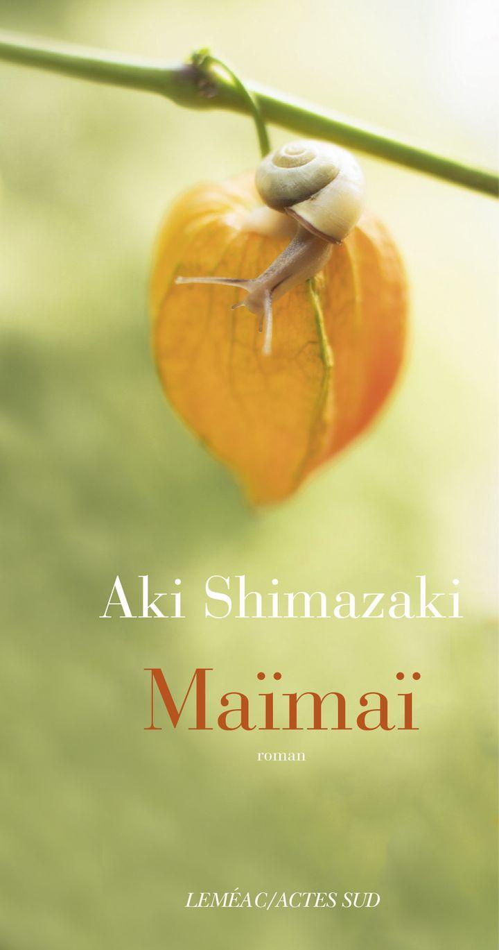 """Couverture de """"Maïmaï"""", Aki Shimazaki (Actes Sud)"""