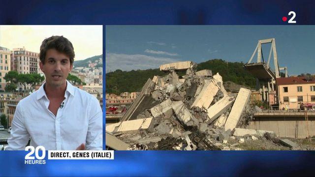 Effondrement d'un pont à Gênes : un viaduc réputé dangereux