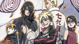 """""""Boruto : Naruto, le film"""" Affiche  (Eurozoom)"""