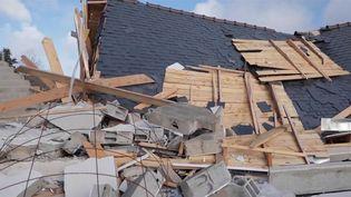 Tempête Aurore : un village du Finistère touché par une tornade. (FRANCE 3)