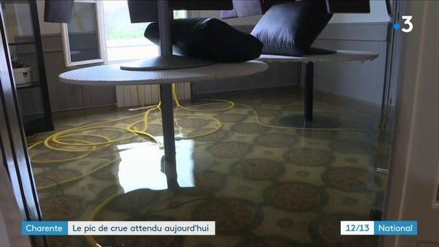 Inondations : à Saintes et Cognac, les habitants attendent toujours le pic de la crue