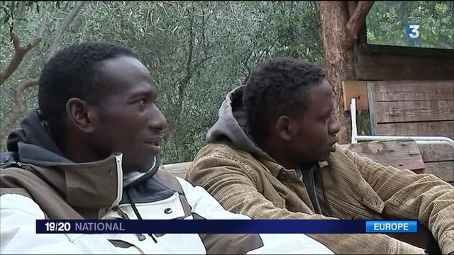 Frontière franco-italienne : les habitants accueillent les réfugiés