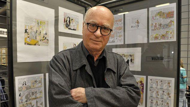 (Georges Wolinski, célèbre dessinateur de Charlie Hebdo, tué dans l'attaque de l'hebdomadaire qui a fait 12 morts © MAXPPP)