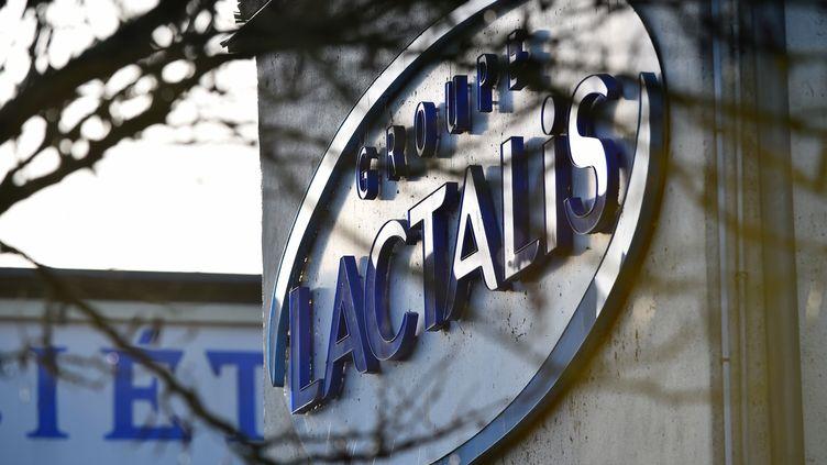 L'entreprise Lactalis, à Laval (Mayenne), le 17 janvier 2018. (JEAN-FRANCOIS MONIER / AFP)