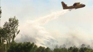 Incendies: départs de feu dans les Bouches-du-Rhône (France 3)