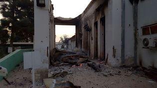 Photographie publiée par Médecins sans frontières montrant l'hôpital de Kunduz (Afghanistan) après un bombardement qui a fait 22 morts, le 3 octobre 2015. (MSF / AFP)