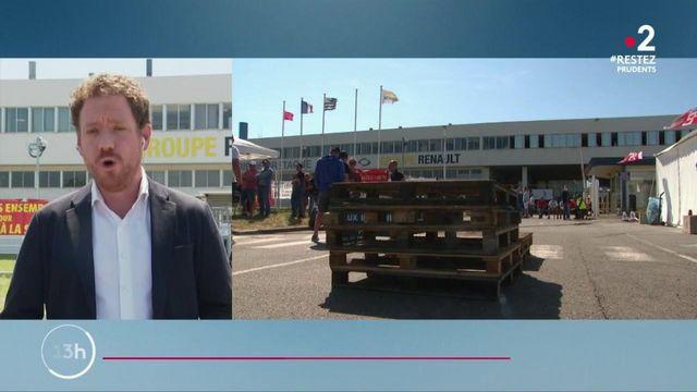 Renault : les salariés de la Fonderie de Bretagne mobilisés
