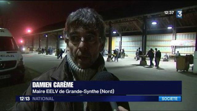 Migrants : incidents dans le camp de Grande-Synthe