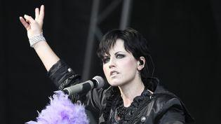 Dolores O'Riordan, la chanteuse des Cranberries, sur scène à Londres en juin 2011.  (Olivia Harris / AFP)