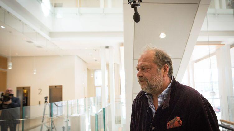 L'avocat Eric Dupond-Moretti, le 15 mai 2019, au tribunal de grande instance de Paris. (MAXPPP)