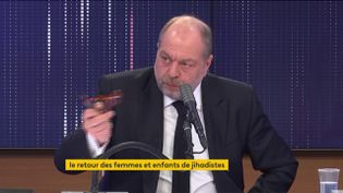 Éric Dupond-Moretti, ministre de la Justice, sur franceinfo le 5 février 2021. (FRANCEINFO / RADIOFRANCE)