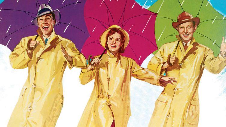 """Affiche du film """"Singin' in the Rain""""  (Warner Bros Video)"""