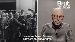 VIDEO. États-Unis : L'histoire de Charles Curtis, le premier vice-président métis (BRUT)