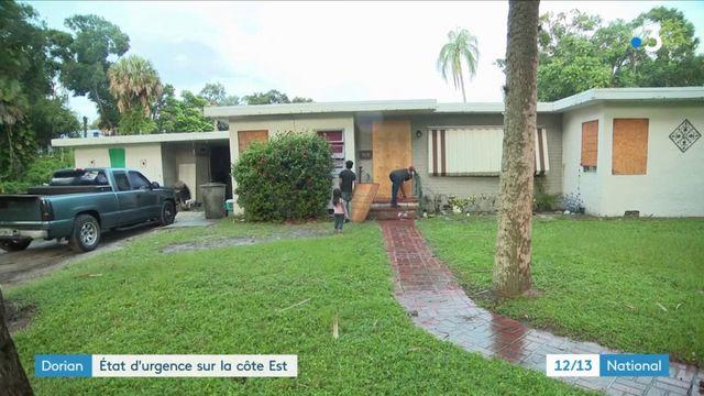 Ouragan Dorian : état d'urgence sur la côte est des États-Unis