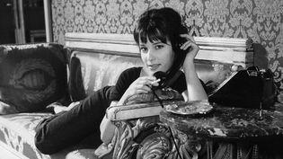 """Bernadette Lafont dans le film """"Les Godelureaux"""" de Claude Chabrol (1961)"""