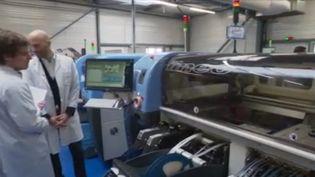 En France, certaines entreprises ont du mal à s'approvisionner en pièces chinoises à cause de l'épidémie de Covid-19. (FRANCE 3)