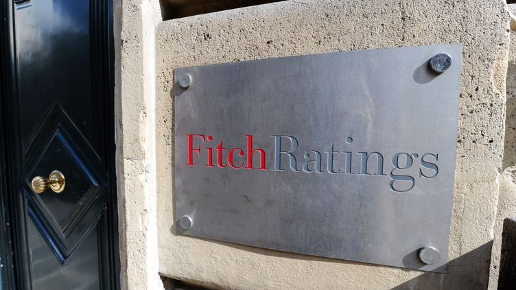 Les locaux de Fitch Ratings, à Paris, le 8 août 2011. (MIGUEL MEDINA / AFP)