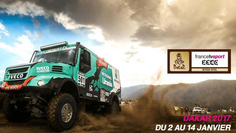 Suivez le Dakar 2017 avec francetvsport !
