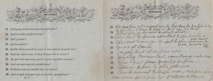 La fin du questionnaire  (Librairie Laurent Coulet à Paris)