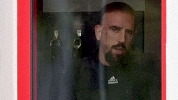 Franck Ribéry, le milieu de terrain du Bayern
