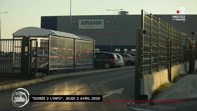 Coronavirus : l'entreprise Amazon rappelée à l'ordre sur les conditions de travail de ses employés