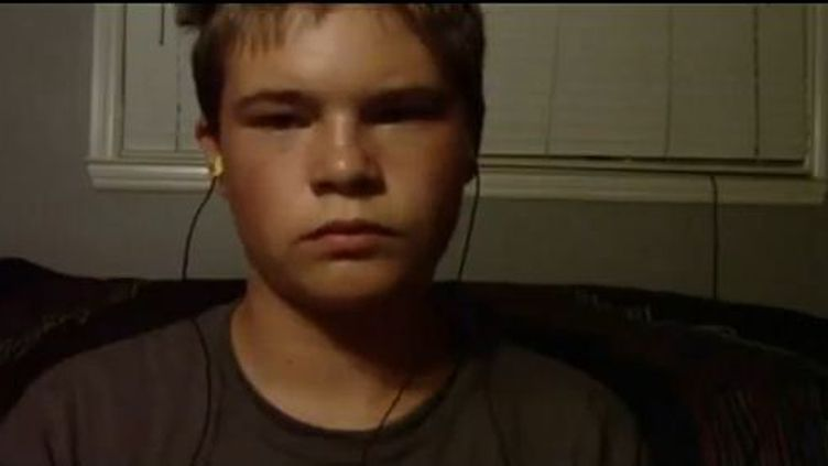 Jonah, 13 ans, dans une vidéo en août 2011.