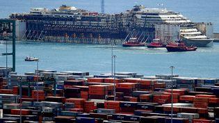 Le port de Gênes. (MARCO BERTORELLO / AFP)