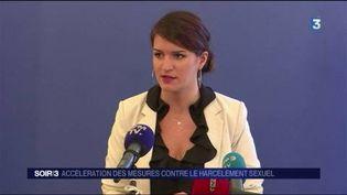 Marlène Schiappa, secrétaire d'État chargée de l'Égalité entre les femmes et les hommes. (FRANCE 3)