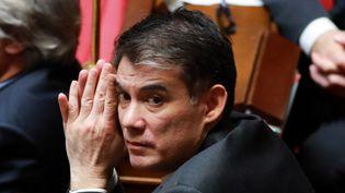 Olivier Faure, le secrétaire général du Parti socialiste. (JACQUES DEMARTHON / AFP)
