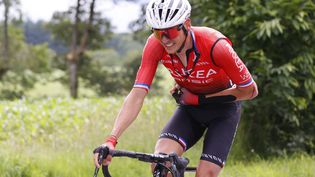 Warren Barguil (Arkéa-Samsic) lors de la 3e étape du Tour de France 2021. (THOMAS SAMSON / AFP)