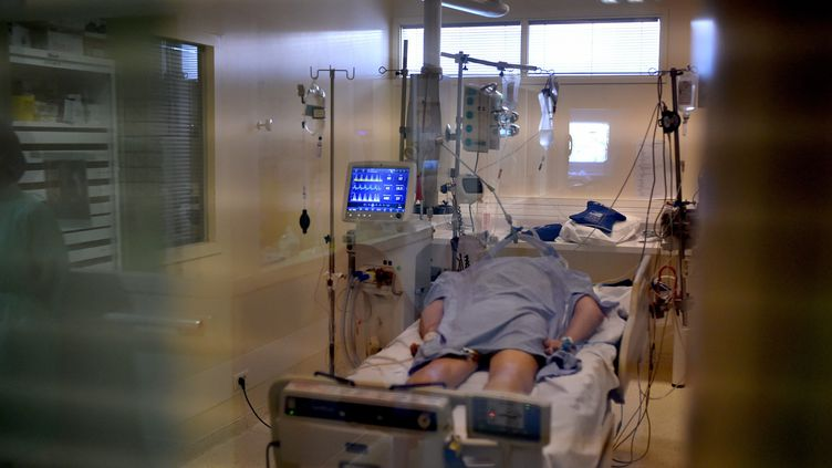 Les patients Covid-19 placés en réanimation multiplient par 15 les besoins des hôpitaux en curare. (photo d'illustration) (REMY PERRIN / MAXPPP)