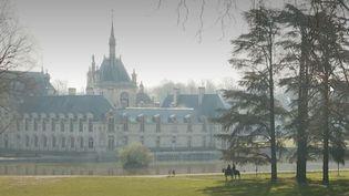Le château de Chantilly en temps de confinement   (France 3)