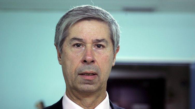 Hervé Fleury,virologue, professeur émérite au CNRS et à l'université de Bordeaux, le 16 novembre 2007. (MAXPPP)