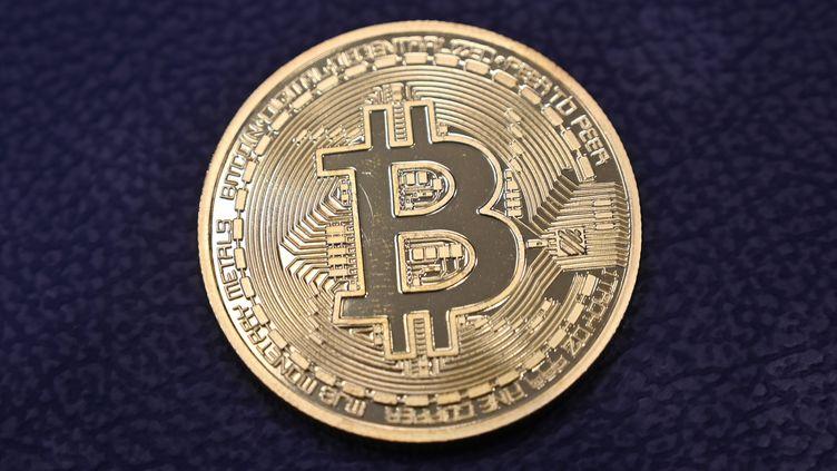 Illustration bitcoin. (OZAN KOSE / AFP)
