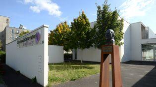 Le centre culturel Yvon Luby d'Allones (Sarthe) qui abrite la mosquée de la commune. (JEAN-FRANCOIS MONIER / AFP)