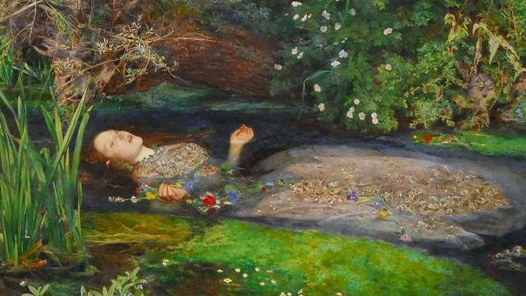 Ophélie - Arthur Rimbaud Ophelie-tableau-sipa