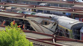 (La catastrophe de Brétigny le 13 juillet 2013 © REUTERS/Gonzalo Fuentes)