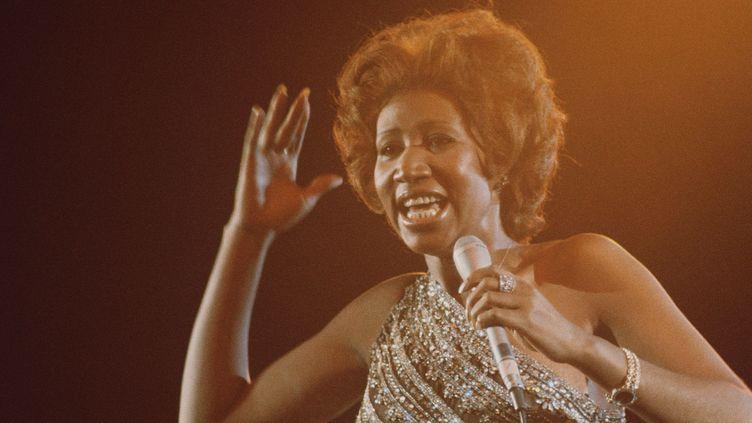 Aretha Franklin en 1967  (Photo by Kent/Mediapunch/REX/Shutterstock (8550987a))